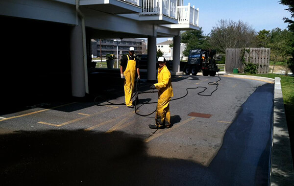 Peninsula Paving Seal Coating